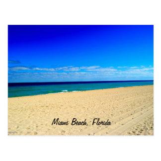 Extensión, Miami Beach, la Florida Tarjeta Postal