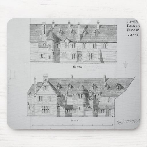 Extension of the House of Mercy, Clewer Mousepad