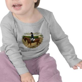 Extensiones del Dressage infantiles Camisetas