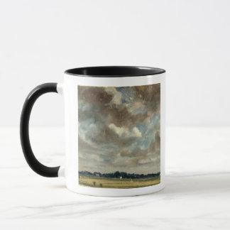 Extensive Landscape with Grey Clouds, c.1821 (oil Mug