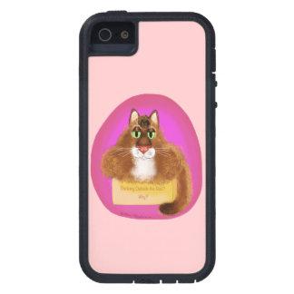 ¿Exterior de pensamiento Caja-Porqué? iPhone 5 Protectores