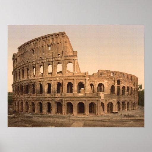 Exterior del Colosseum, Roma, impresión archival Impresiones