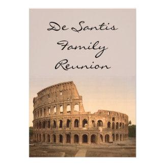 Exterior del Colosseum Roma Italia