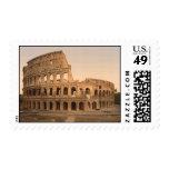 Exterior del Colosseum, Roma, Italia Sello