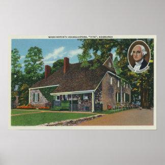 Exterior del HQ de George Washington Posters