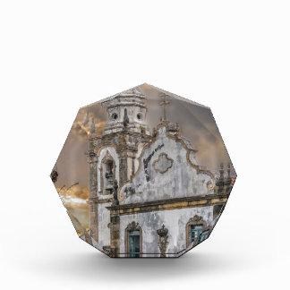 Exterior Facade Antique Colonial Church Olinda Acrylic Award