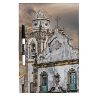 Exterior Facade Antique Colonial Church Olinda Dry-Erase Board