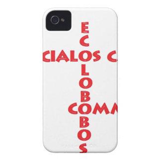 EXTERIOR LOS S C E C iPhone 4 Case-Mate PROTECTORES