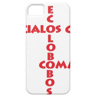 EXTERIOR LOS S C E C iPhone 5 CARCASA