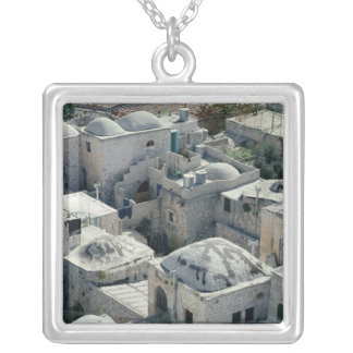 Exterior of David's Tomb Silver Plated Necklace