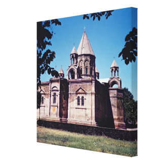 Exterior of Etchmiadzin Cathedral Canvas Print