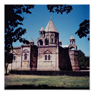 Exterior of Etchmiadzin Cathedral Poster