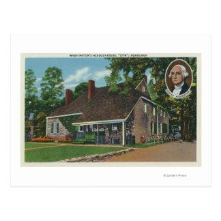 Exterior of George Washington's HQ Postcard