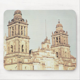 Exterior of Mexico City Cathedral Mouse Pad