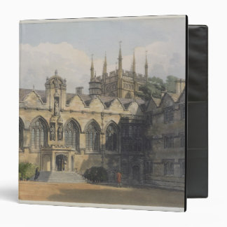 Exterior of Oriel College, illustration from the ' Binders