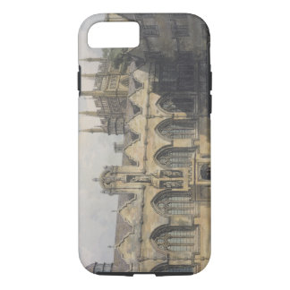 Exterior of Oriel College, illustration from the ' iPhone 8/7 Case