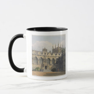 Exterior of Oriel College, illustration from the ' Mug