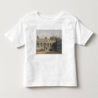 Exterior of Oriel College, illustration from the ' Toddler T-shirt