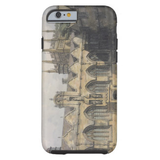 Exterior of Oriel College, illustration from the ' Tough iPhone 6 Case