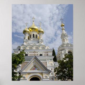 Exterior of Saint Alexander Nevsky Cathedral 2 Poster