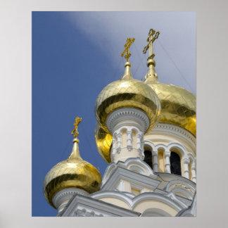 Exterior of Saint Alexander Nevsky Cathedral 3 Poster