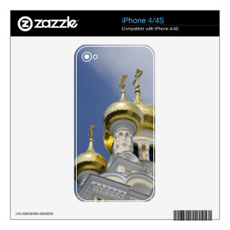 Exterior of Saint Alexander Nevsky Cathedral 3 Skin For iPhone 4S