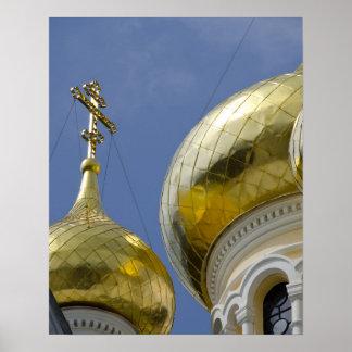 Exterior of Saint Alexander Nevsky Cathedral 4 Poster