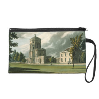 Exterior of The Astronomical Observatory, illustra Wristlet Purse