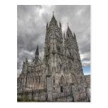 Exterior of the Basilica in Quito, Ecuador Post Card