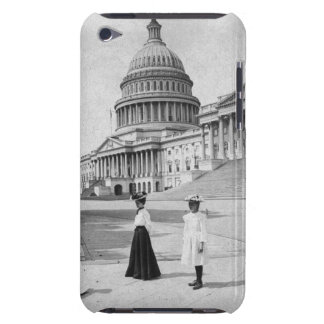 Exterior of the Capitol building with women iPod Touch Cover