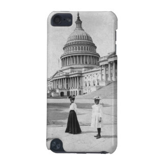 Exterior of the Capitol building with women iPod Touch (5th Generation) Cover