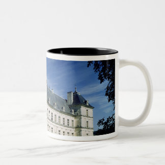 Exterior of the Chateau, built c.1546 Two-Tone Coffee Mug