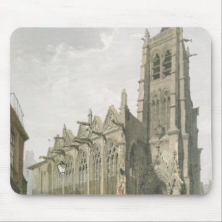 Exterior of the Church of St. Severin, Paris Mouse Pad