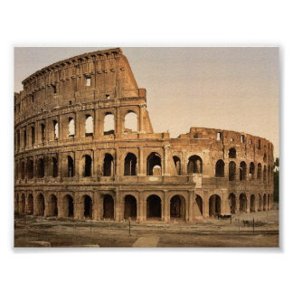 Exterior of the Coliseum, Rome, Italy classic Phot Posters