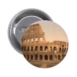 Exterior of the Colosseum, Rome, Italy 2 Inch Round Button