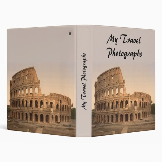 Exterior of the Colosseum, Rome, Italy Binder