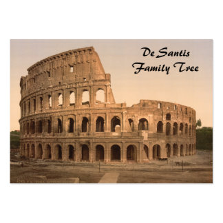 Exterior of the Colosseum, Rome, Italy Business Card Templates