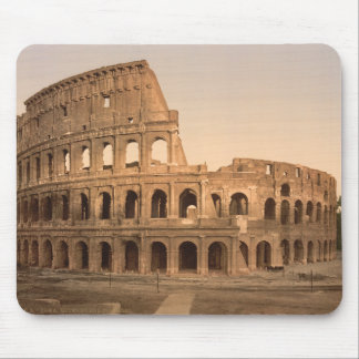 Exterior of the Colosseum, Rome, Italy Mouse Pad