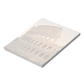 Exterior of the Colosseum, Rome, Italy Notepads