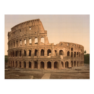 Exterior of the Colosseum, Rome, Italy Post Cards