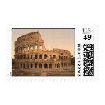 Exterior of the Colosseum, Rome, Italy Postage Stamps