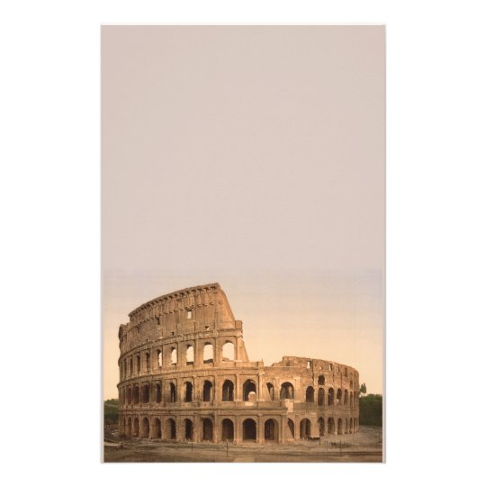 Exterior of the Colosseum, Rome, Italy Stationery