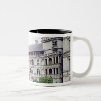 Exterior of the Facade des Loges Two-Tone Coffee Mug