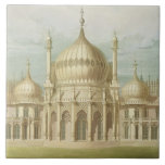 Exterior of the Saloon from Views of the Royal Pav Ceramic Tile