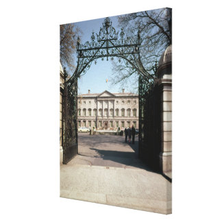 Exterior view from the gate, built 1745-47 canvas print