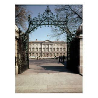 Exterior view from the gate, built 1745-47 postcard