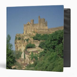 Exterior view from the lower cliffs vinyl binder
