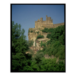 Exterior view from the lower cliffs poster
