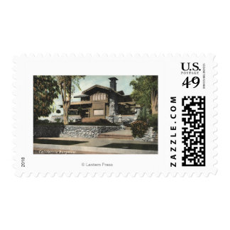 Exterior View of a Californian Bungalow Postage