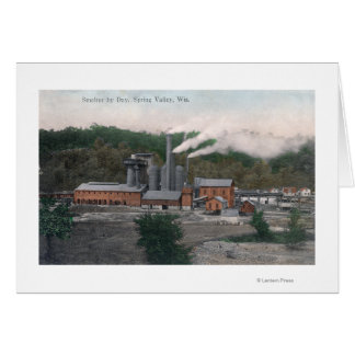 Exterior View of a Smelting Plant Card